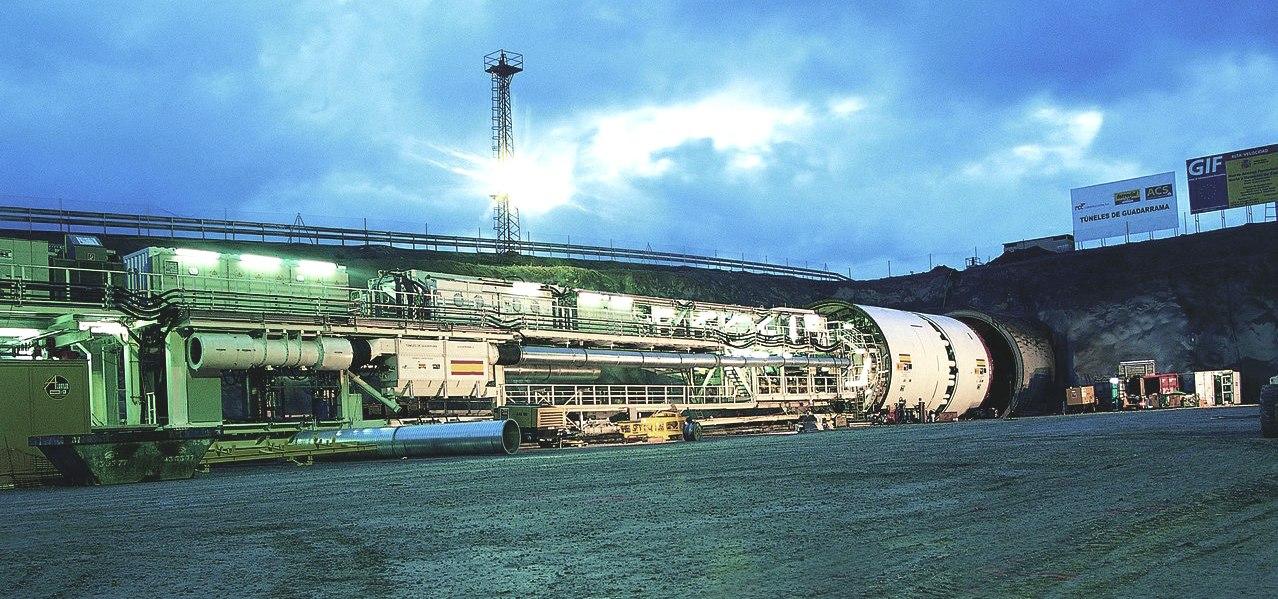 Tunnelbau CFT