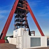 Schachtbewetterungsanlage auf dem Bergwerk für Projekt Weißrussland